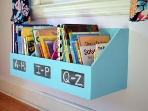 Kids Wall Book Shelves
