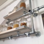 Kitchen Wall Storage Shelves