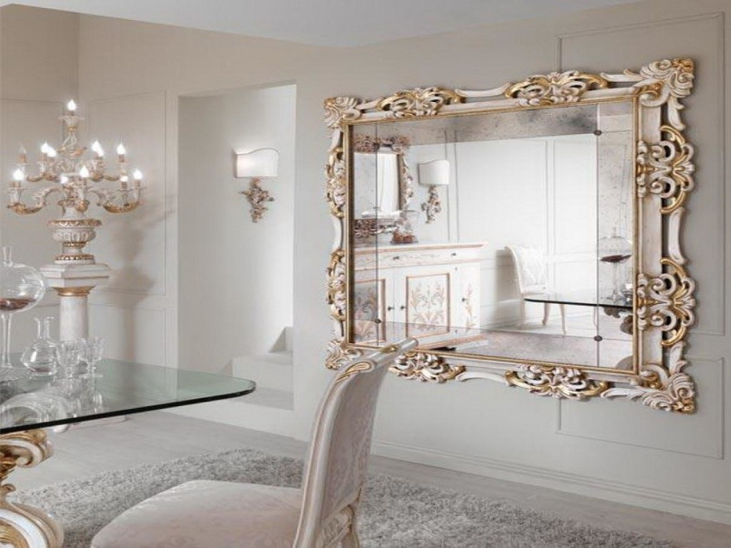 Large Modern Decorative Wall Mirrors