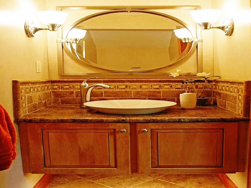 Large Oval Bathroom Mirrors