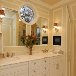 Large White Wood Framed Mirrors