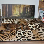 Leopard Print Area Rug Cheap