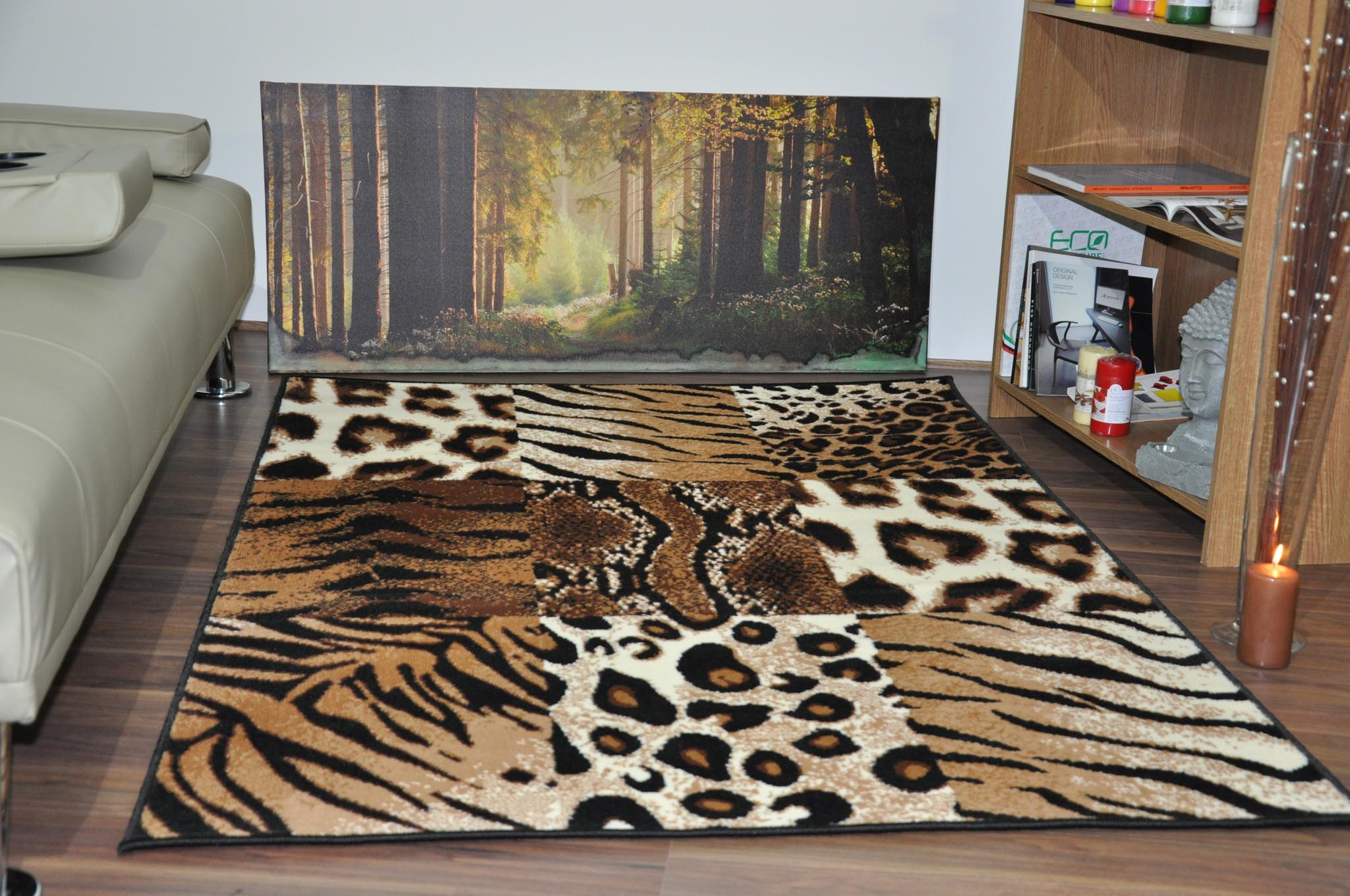 leopard print area rug cheap best decor things