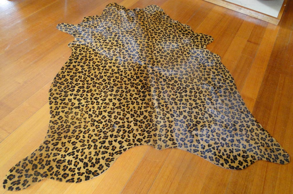 Leopard Hide Rug Rugs Ideas