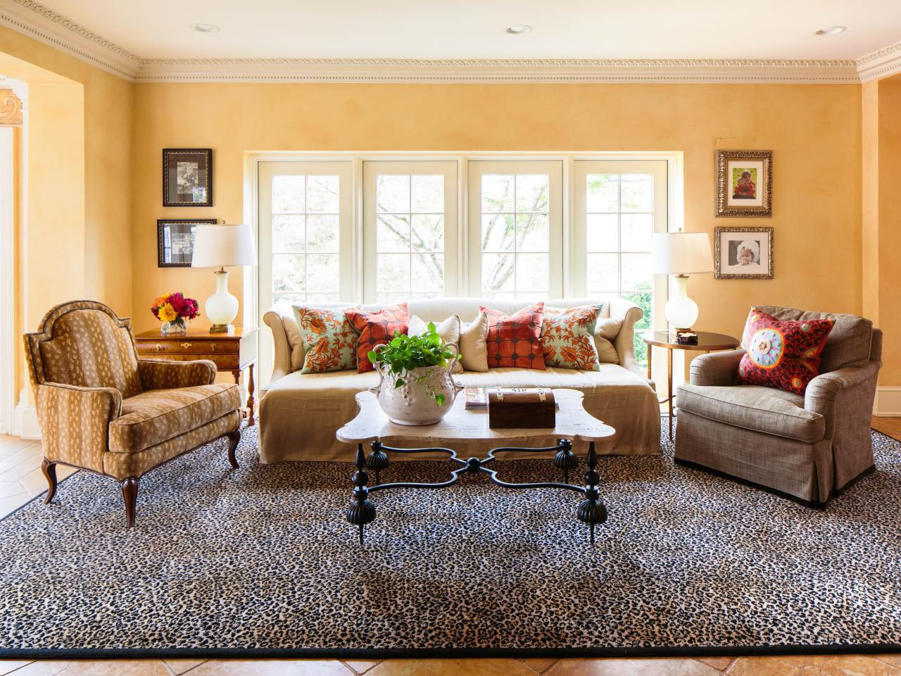 Animal Print Rug Living Room Living Room