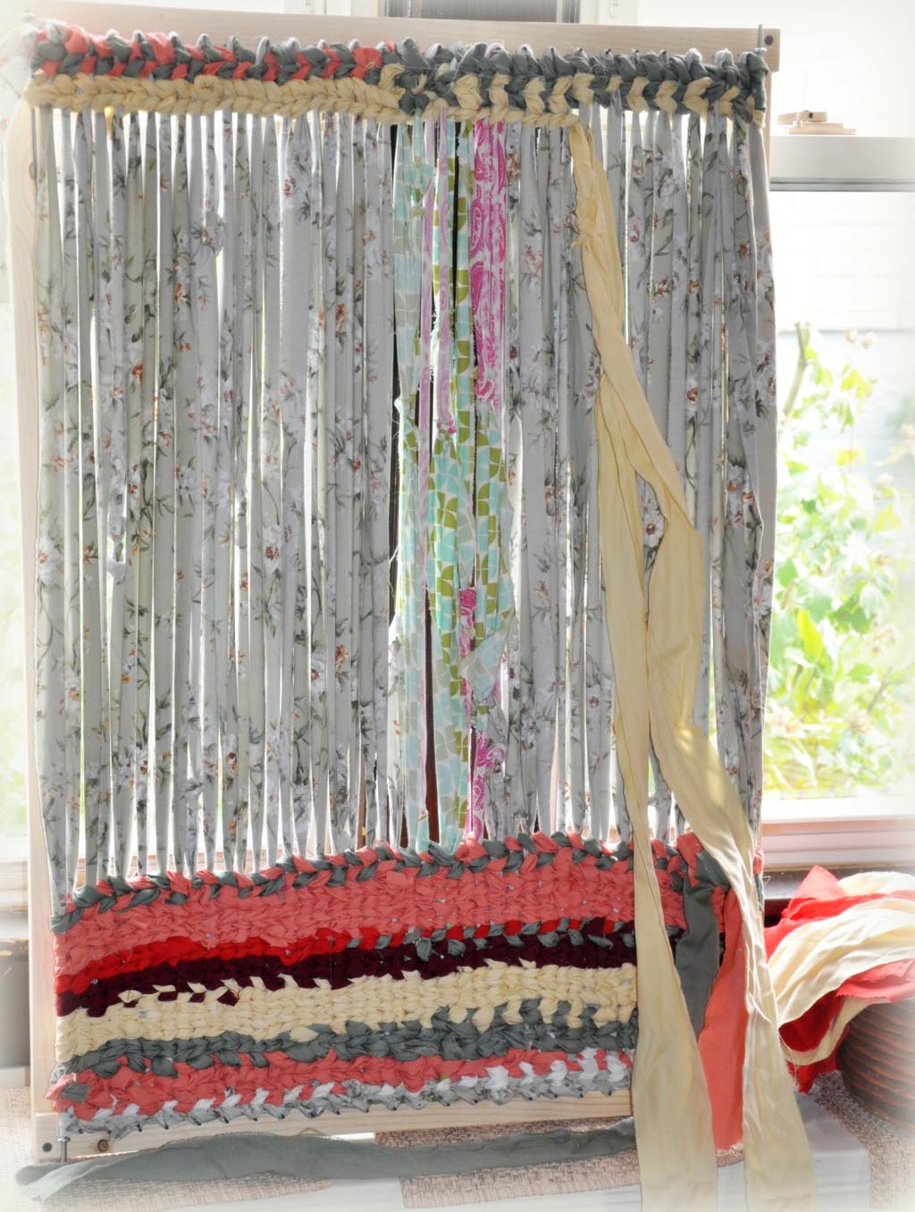 Diy Rag Rug Loom Home Decor