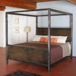 Metal and Wood Bedroom Furniture