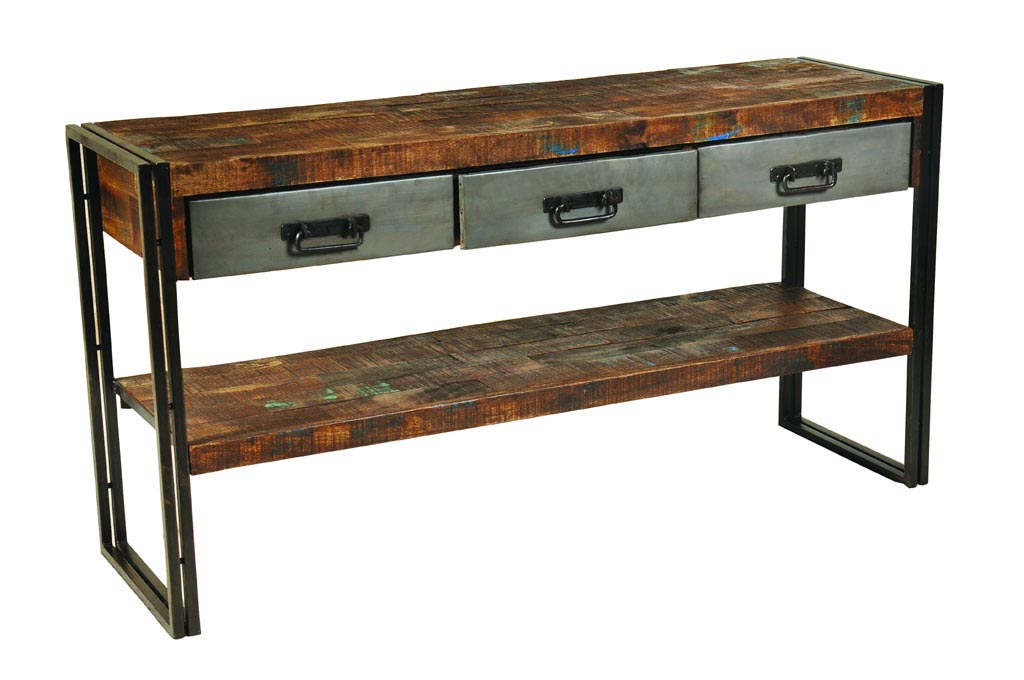 Metal and Wood Furniture Design
