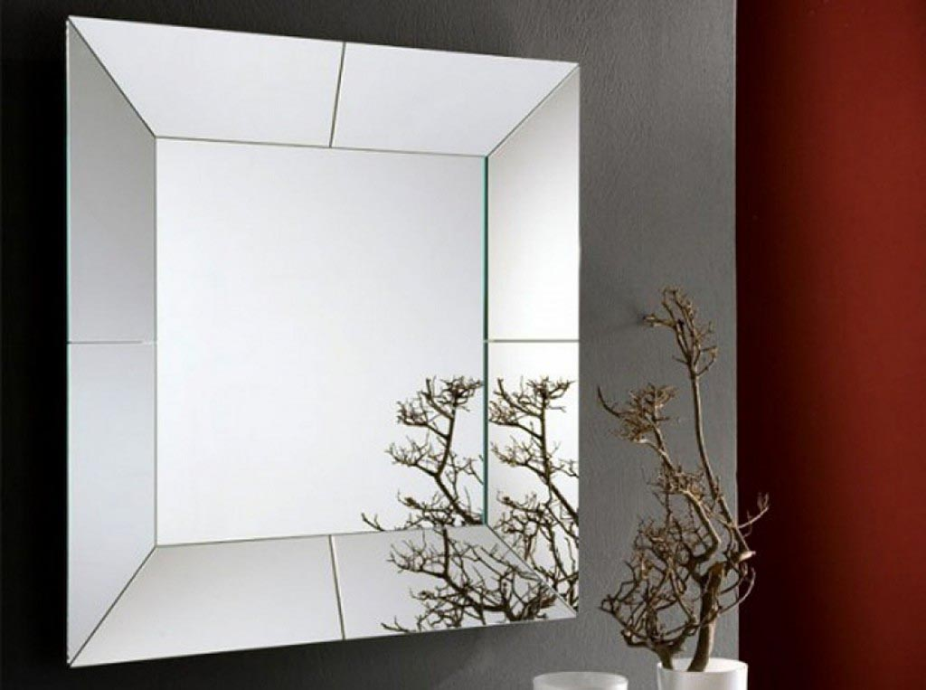 Modern decorative wall mirrors best decor things for Modern mirrored wall art