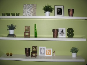 Modern Floating Wall Shelves