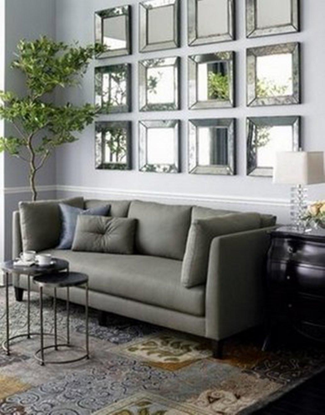 Modern Wall Mirrors for Living Room