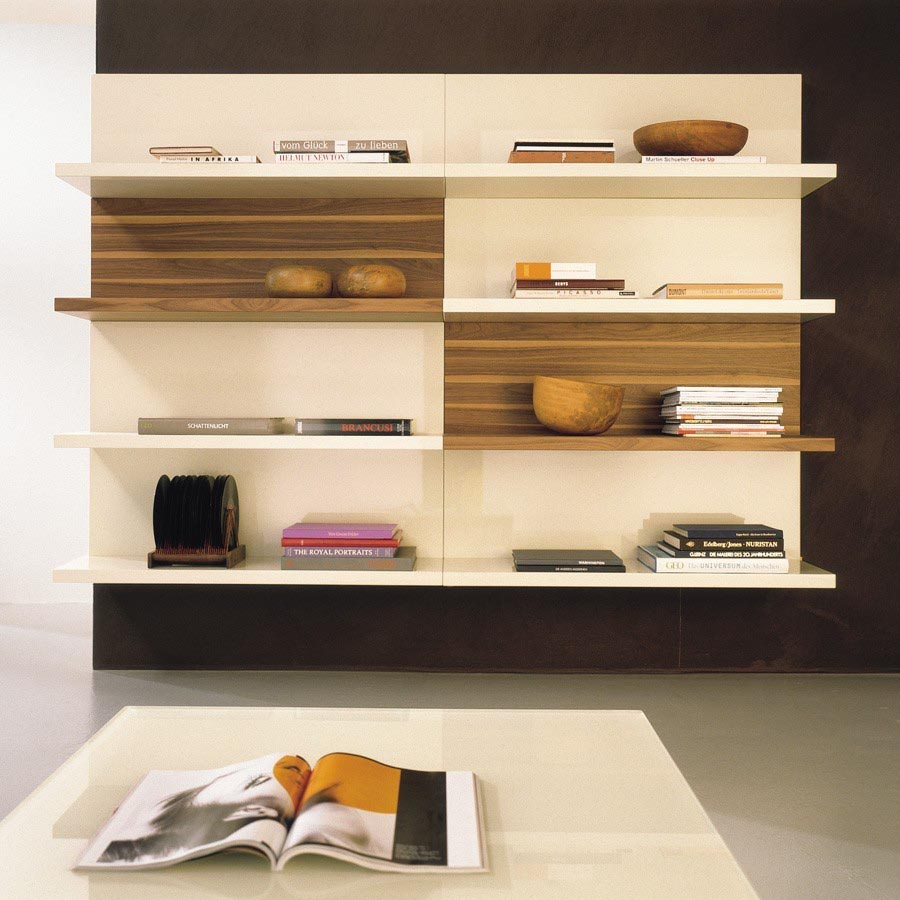 Modern wall mounted shelves best decor things Wall mounted bookcase shelves