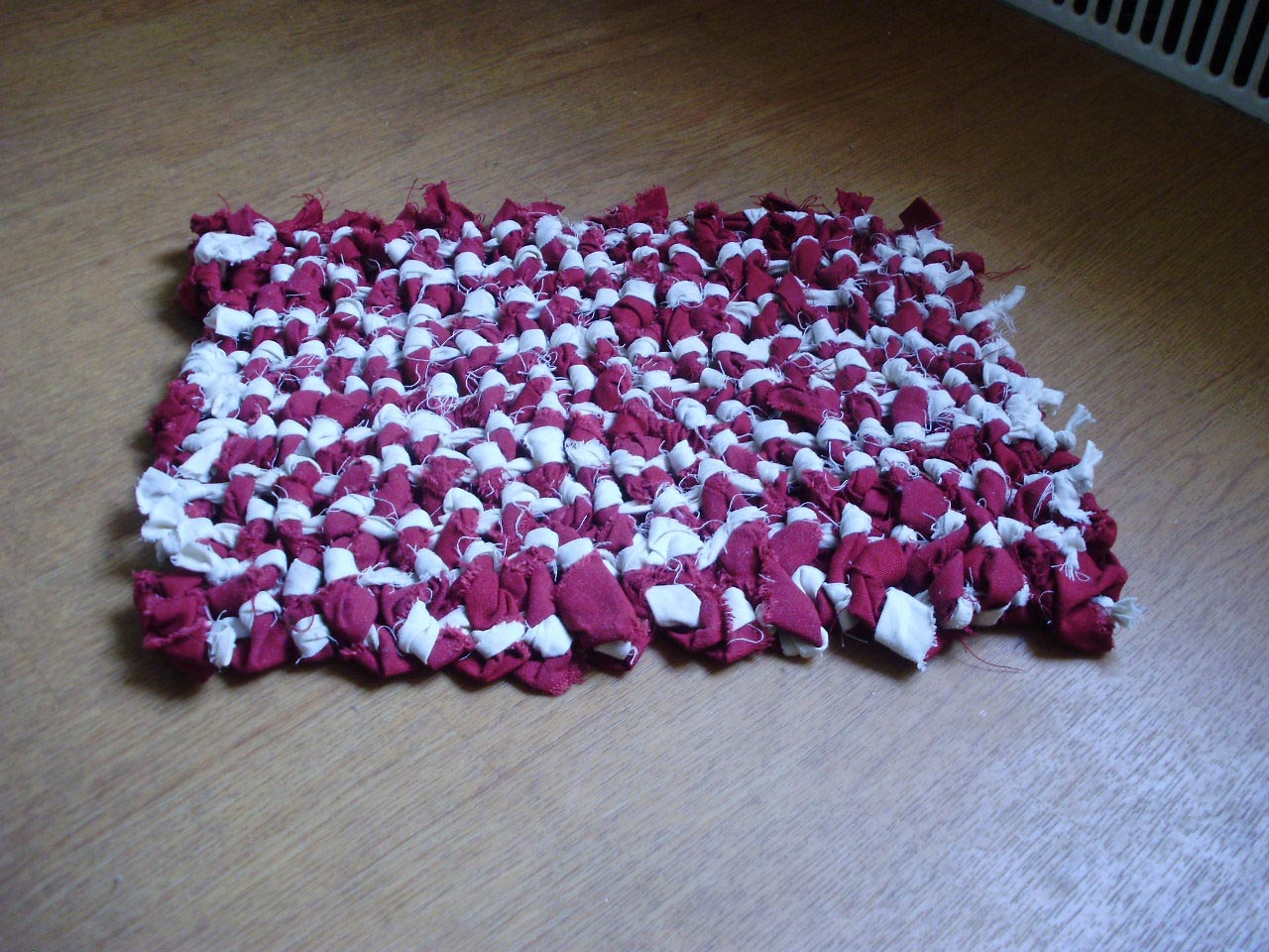 No Sew Braided Rag Rug
