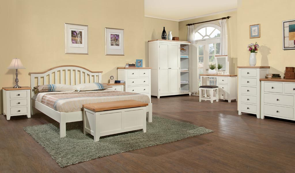 Oak Painted Bedroom Furniture