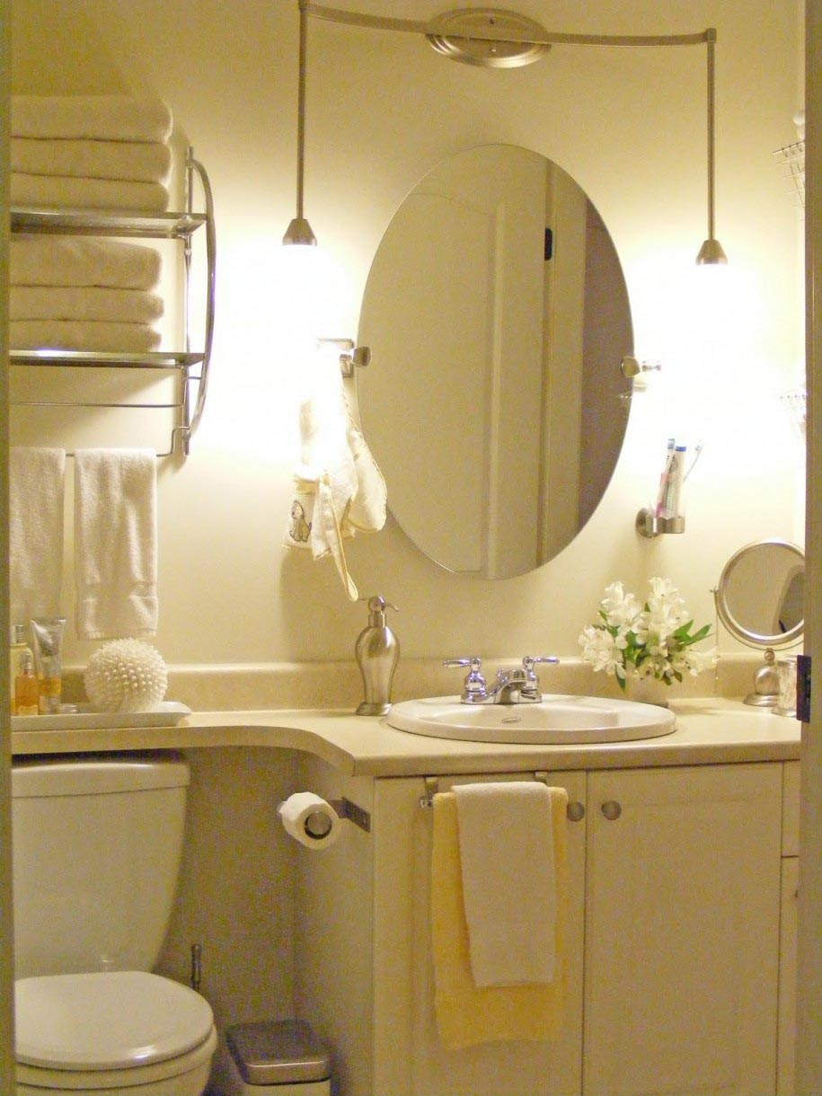 Oval Bathroom Mirrors with Lights
