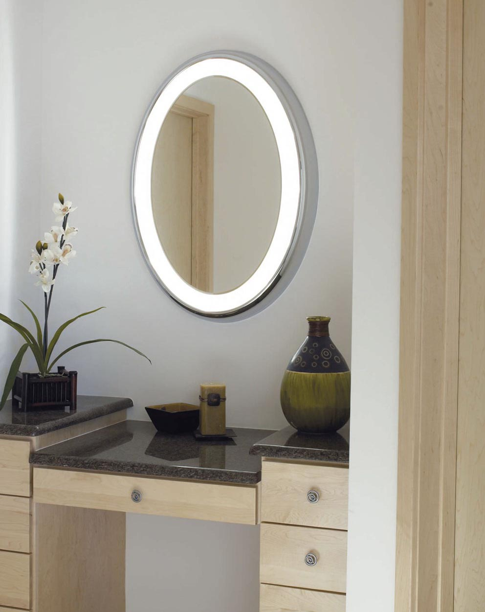 oval bathroom vanity mirrors best decor things