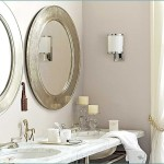 Oval Framed Bathroom Mirrors