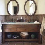 Oval Mirrors for Bathroom Vanities
