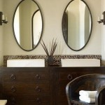 Oval Shaped Bathroom Mirrors