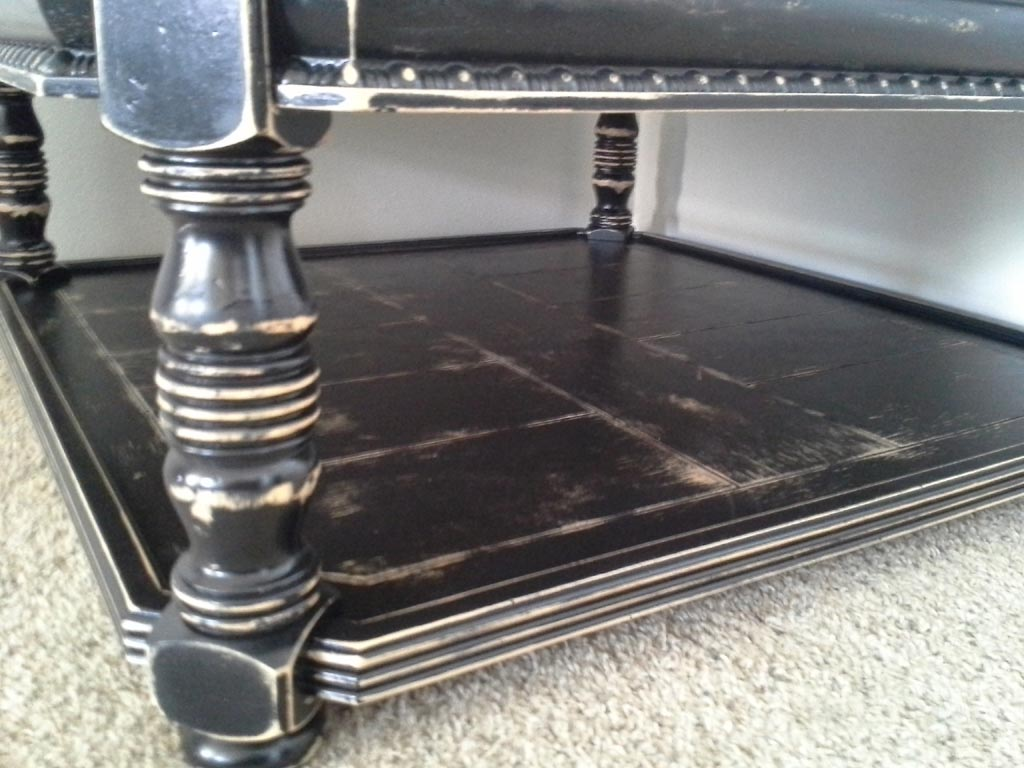 Paint Furniture Black Distressed
