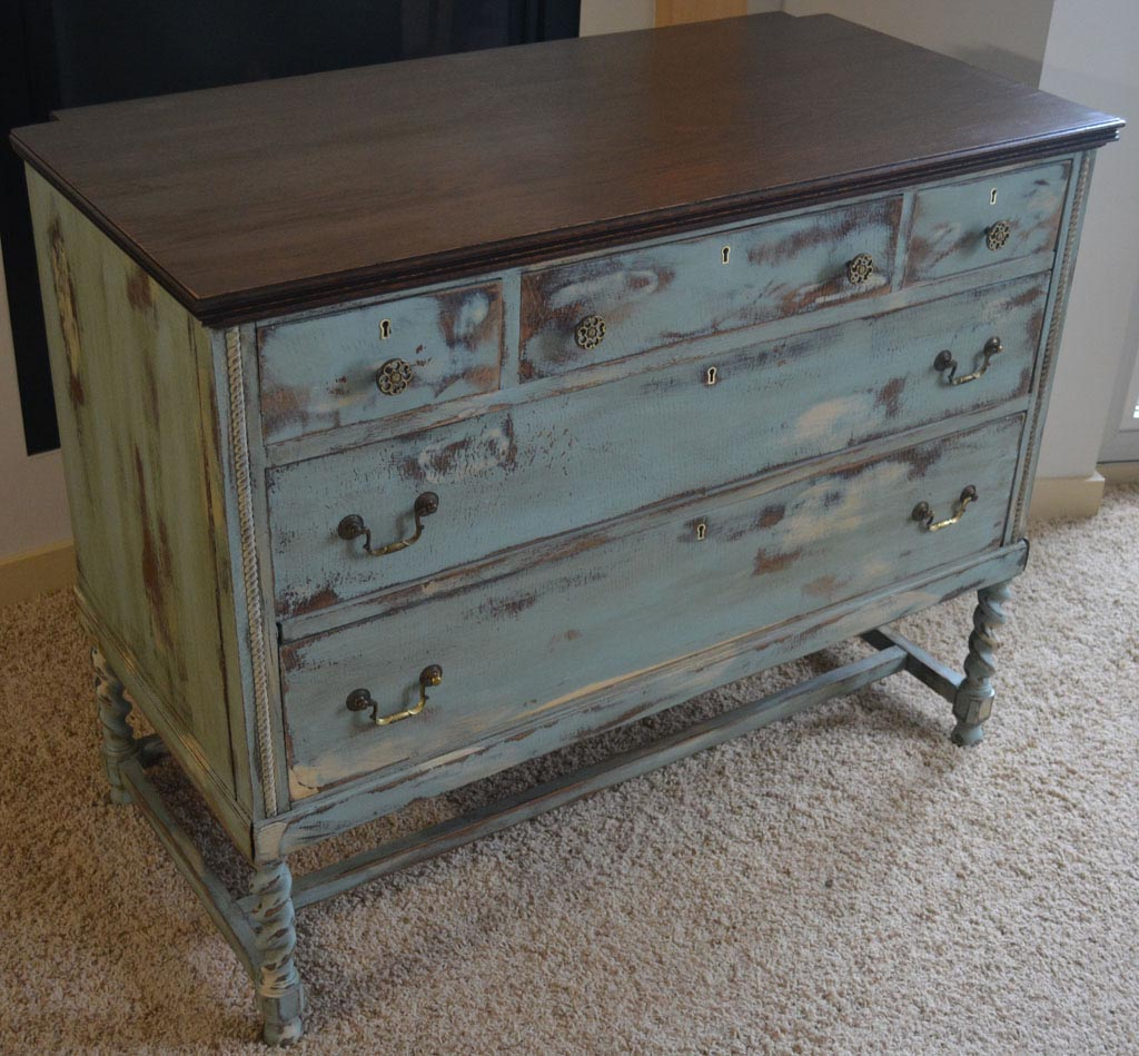 Painted distressed furniture finishes best decor things for Distressed furniture