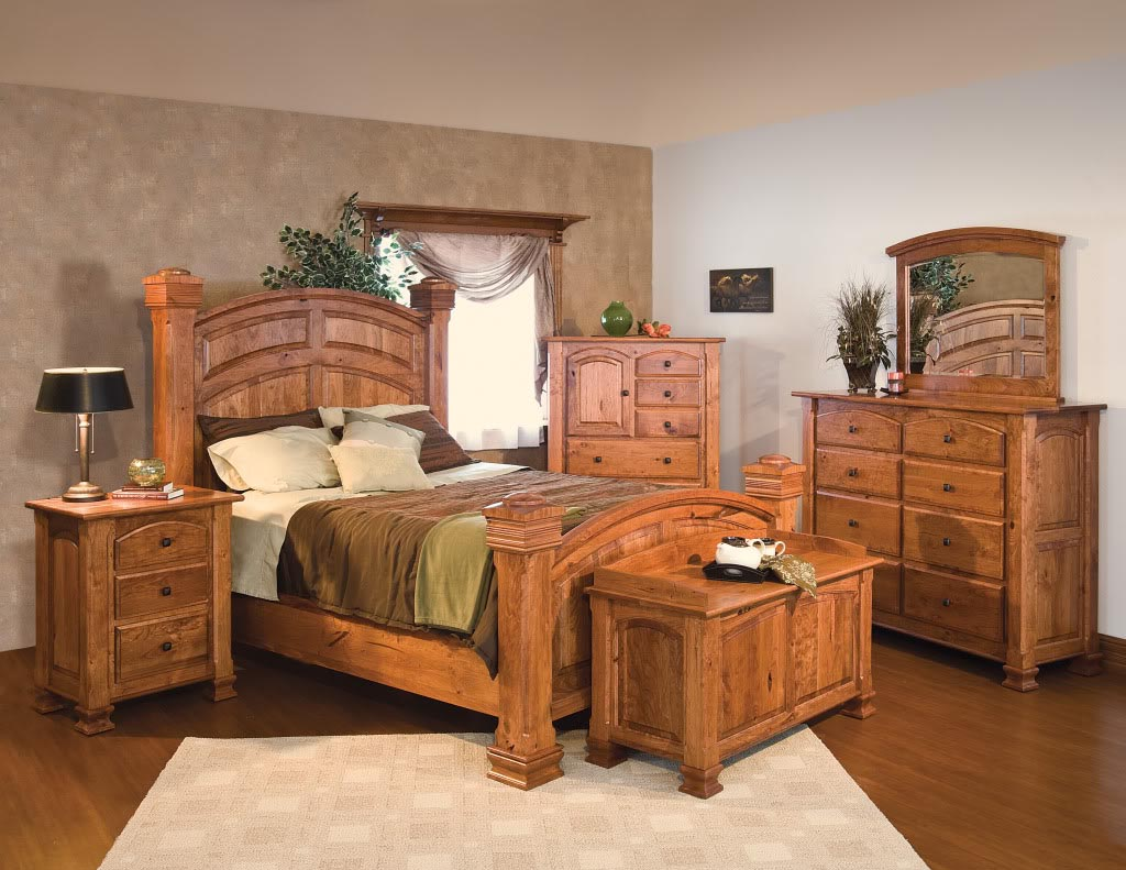 Painted Wood Bedroom Furniture