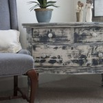 Painting Furniture Black Distressed