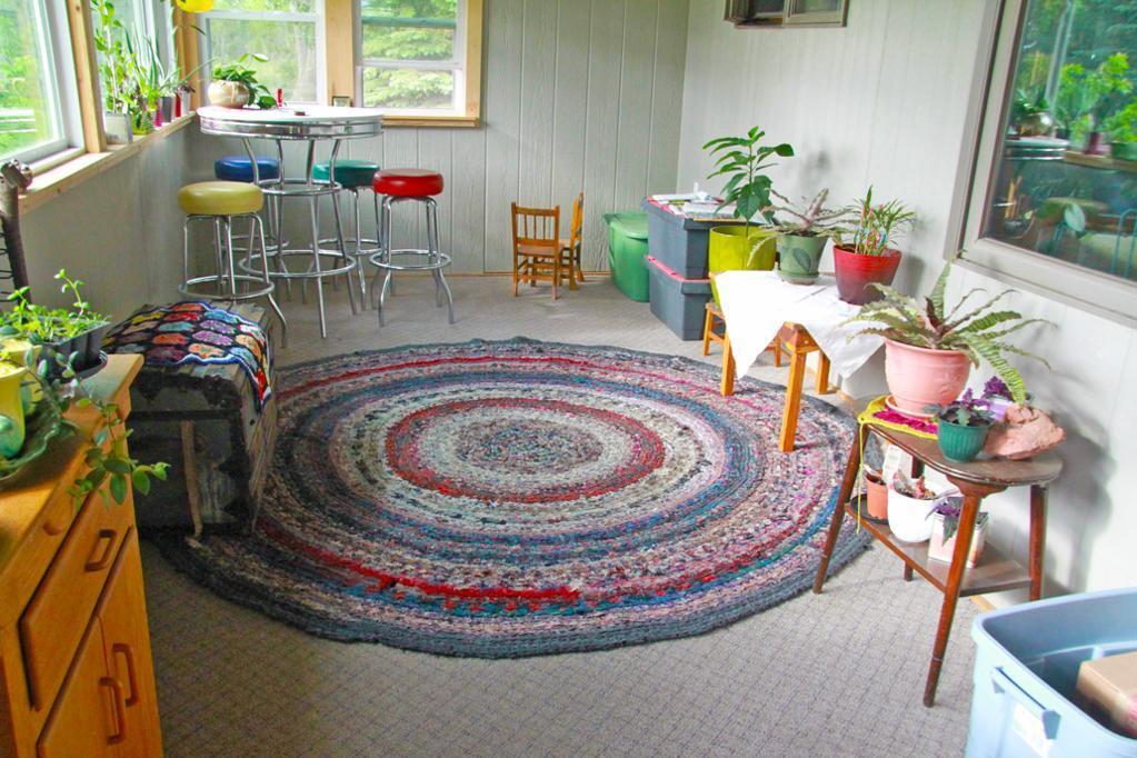 Rag Rug Crochet Pattern