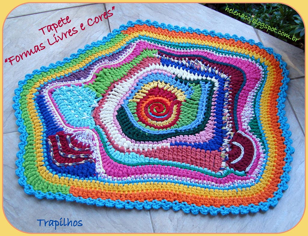 Rag Rug Crochet Tutorial