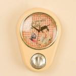 Retro Kitchen Wall Clocks