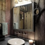 Rustic Bathroom Mirror Ideas