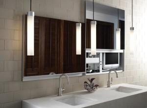 Rustic Metal Bathroom Mirrors