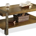 Rustic Wood and Metal Furniture
