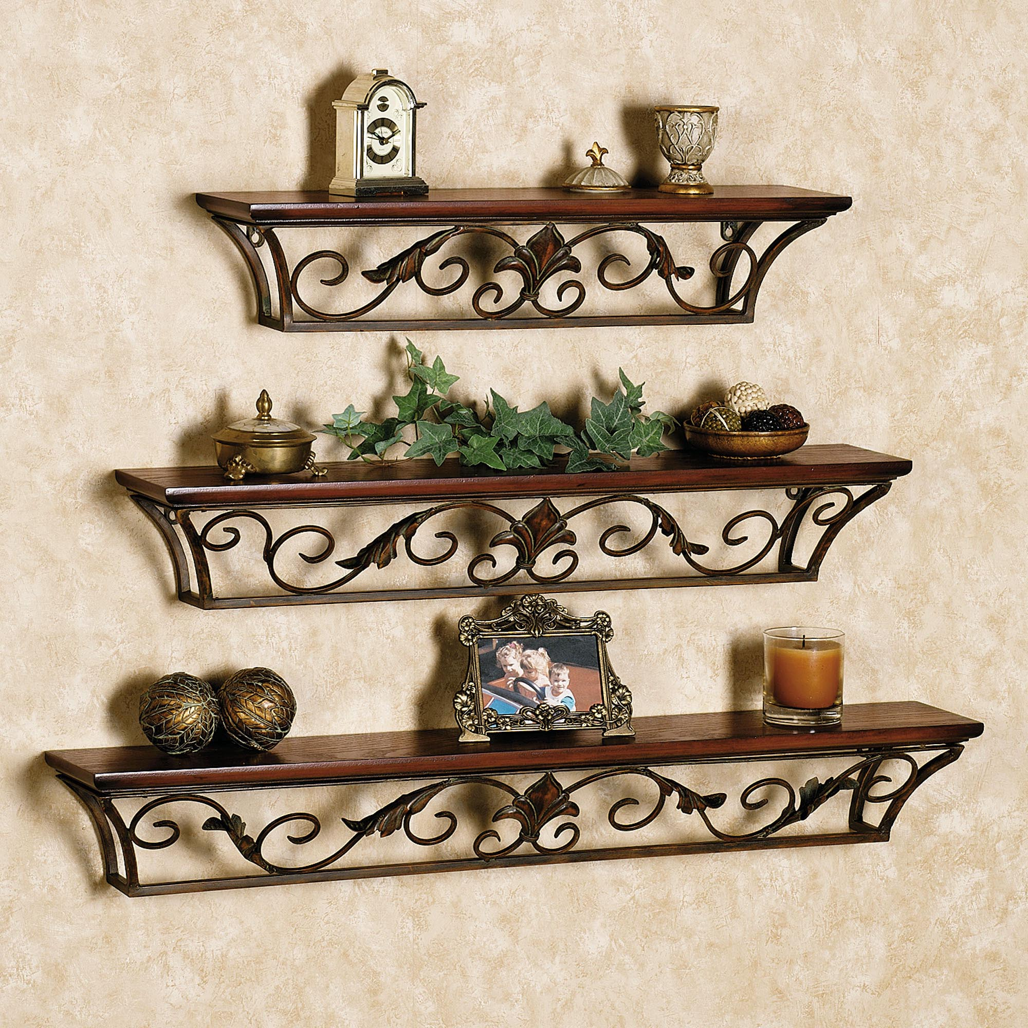 Small decorative wall shelves best decor things for Small wall art