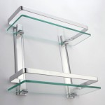 Small Glass Shelves Wall Mount