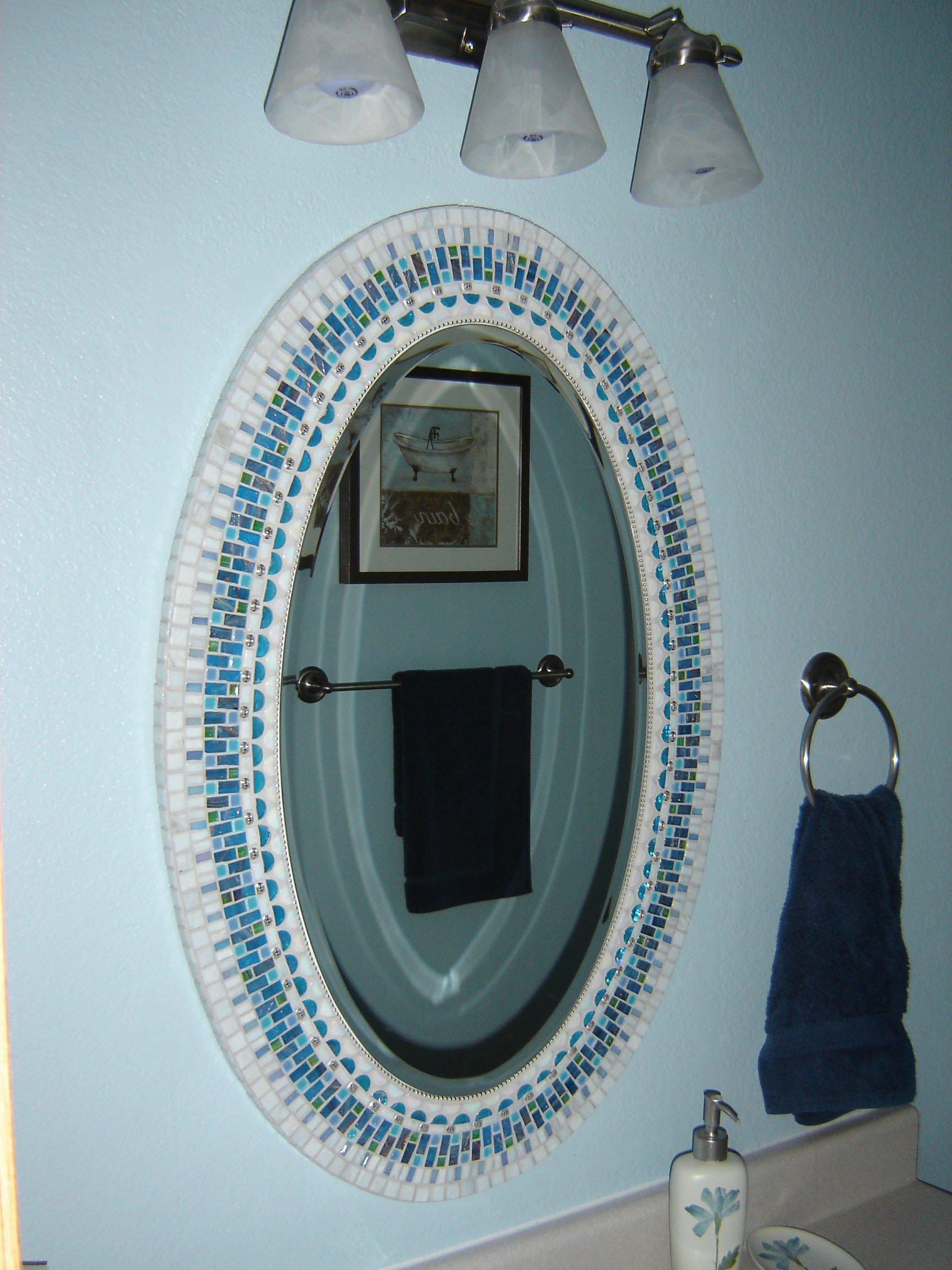 Diy Oval Bathroom Mirrors Frame Best Decor Things