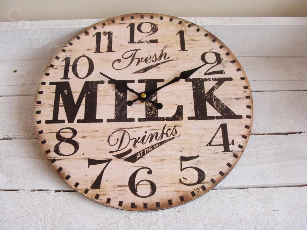 Small Vintage Wall Clocks