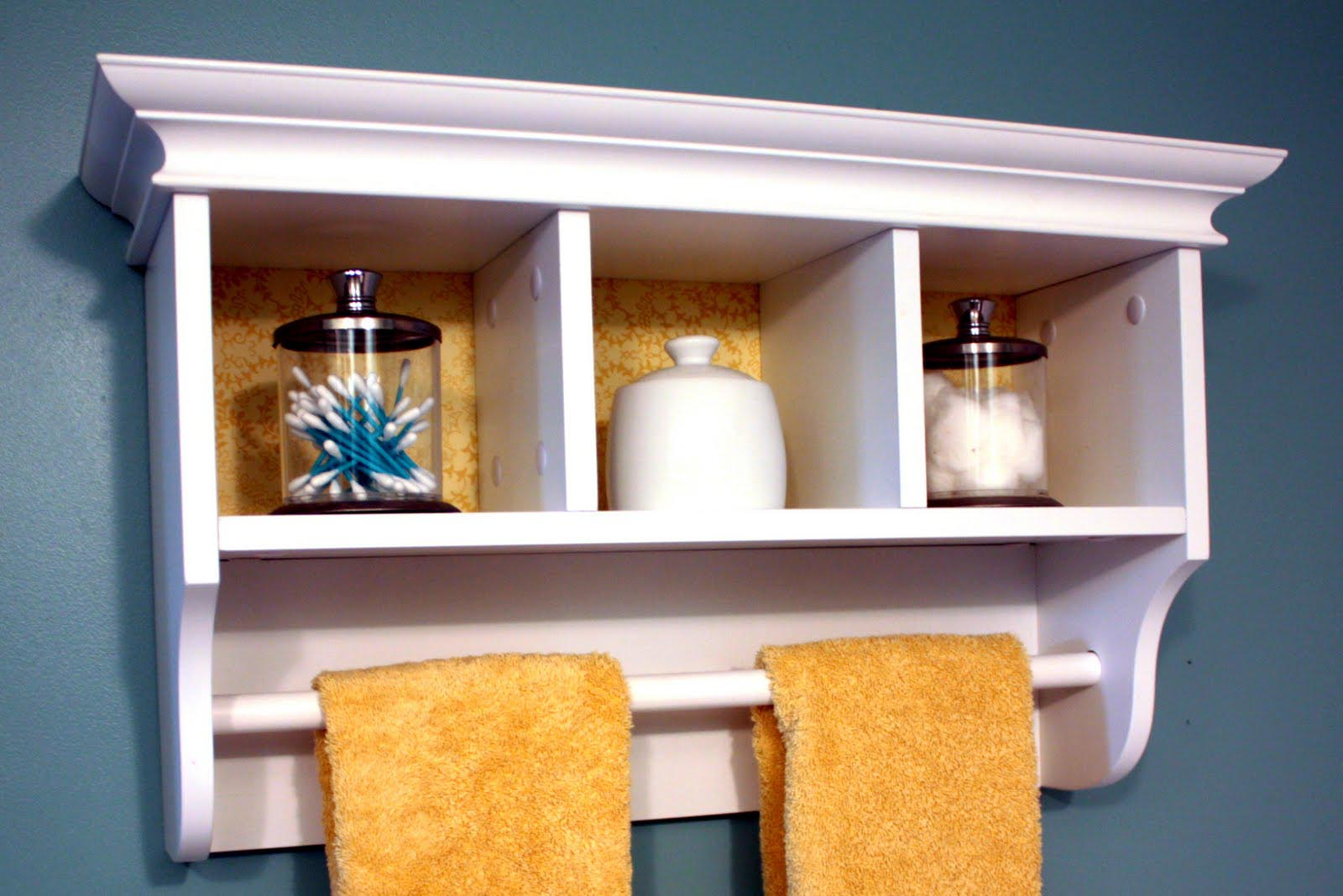 Small wall shelves bathroom best decor things for Small wall art