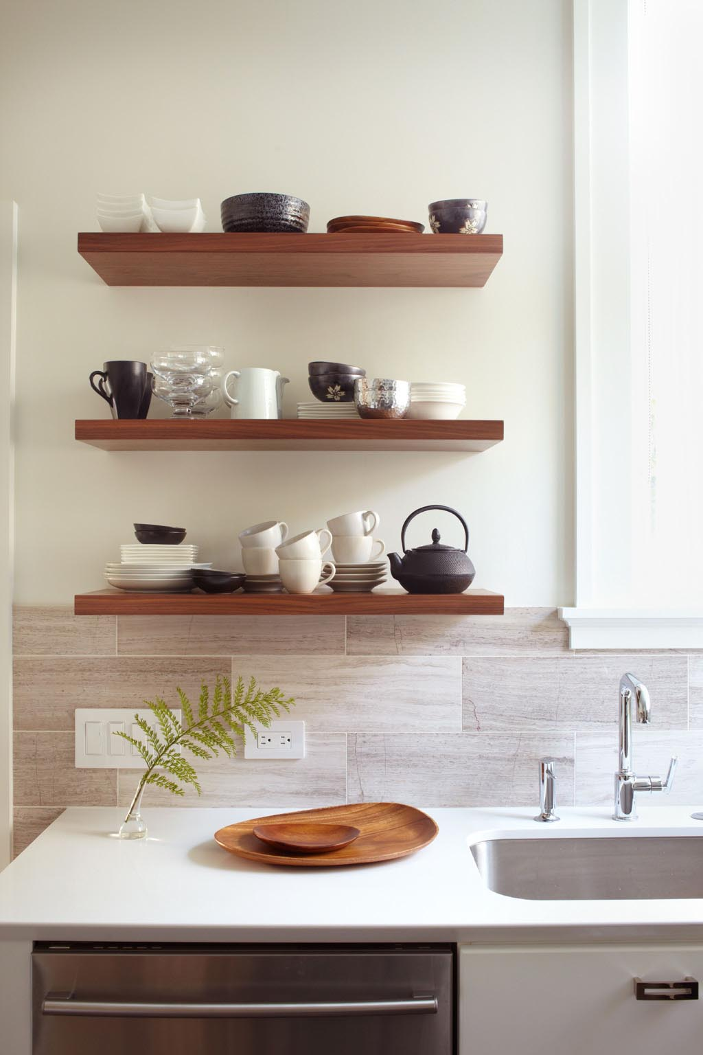 Small Wall Shelves for Kitchen