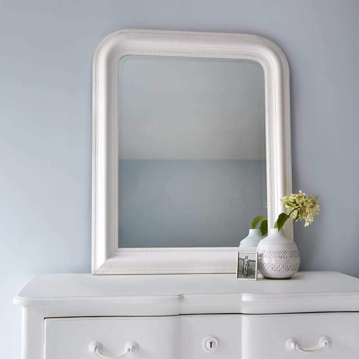 small white framed mirrors best decor things