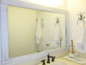 Small Wood Framed Mirrors