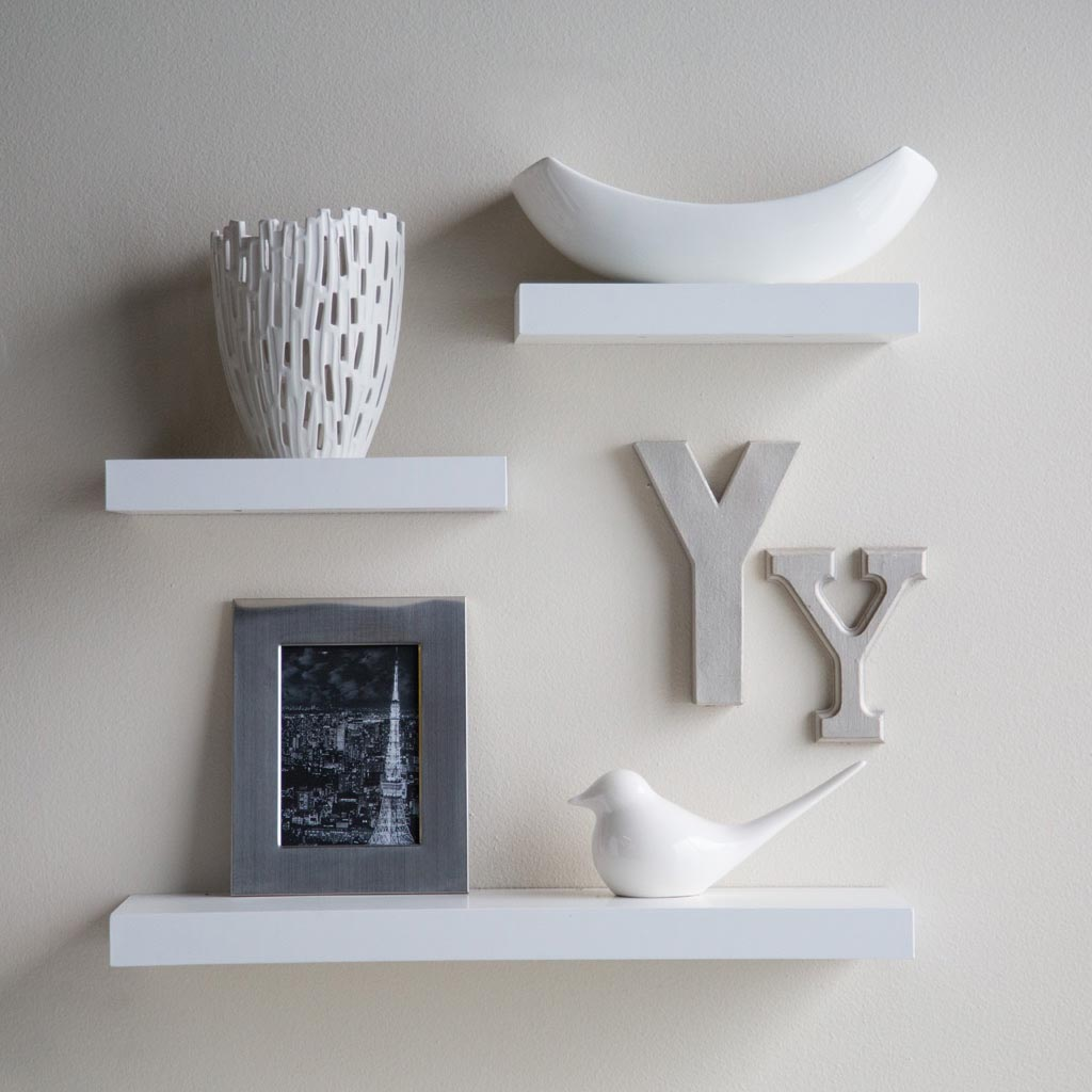 Unique Floating Wall Shelves