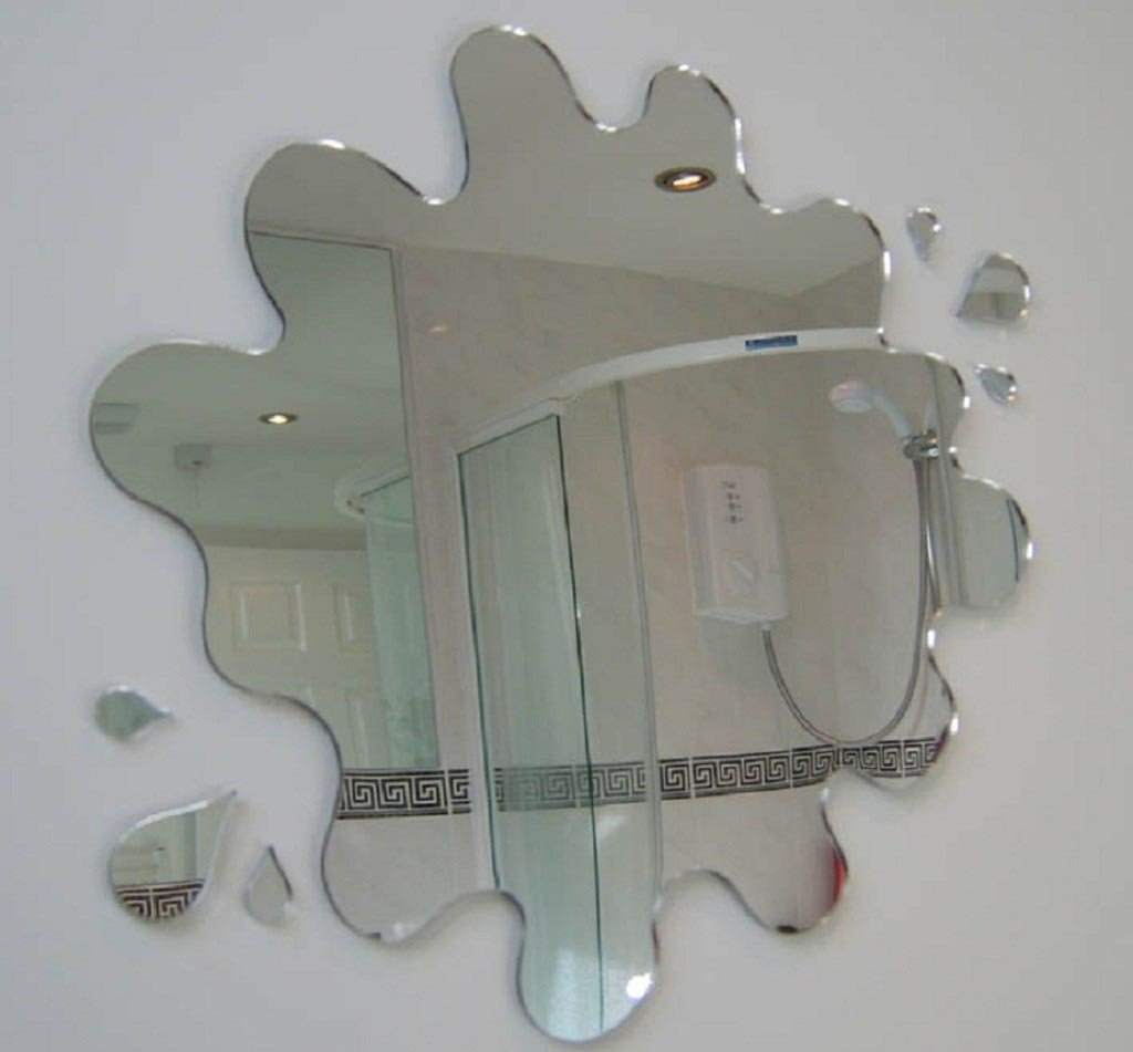 unique wall mirrors cheap