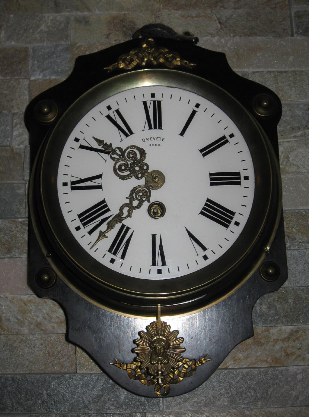 Vintage French Wall Clocks