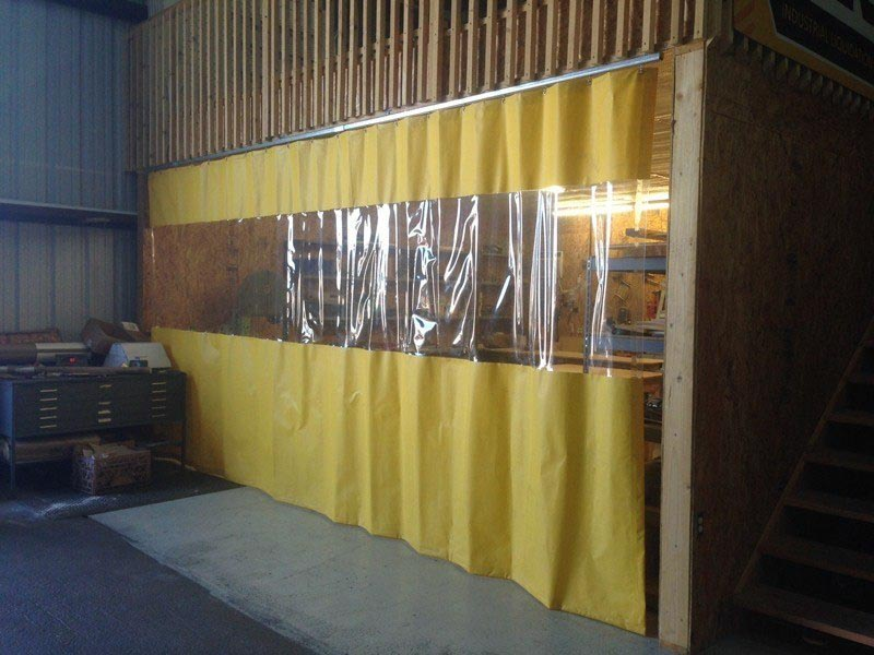 Vinyl Curtain Room Dividers
