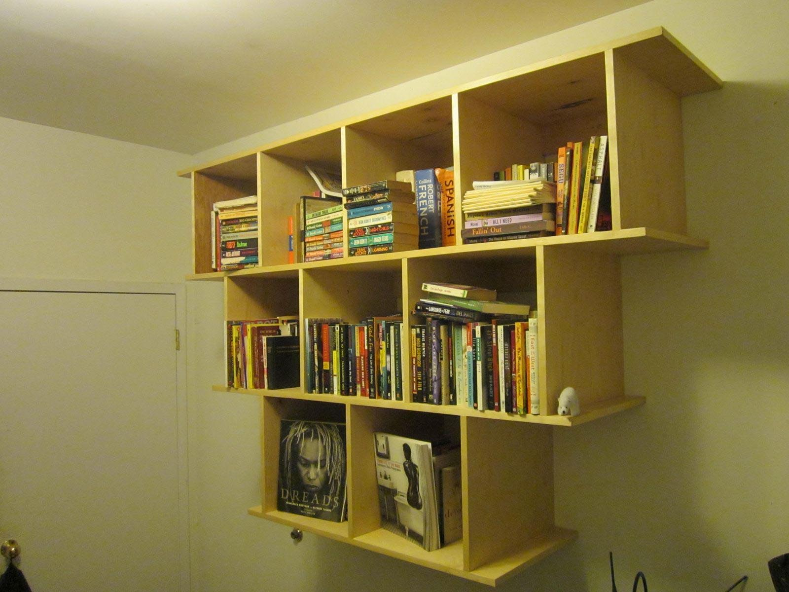 Wall Hanging Book Shelves