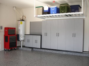 Wall Mounted Garage Storage Shelves