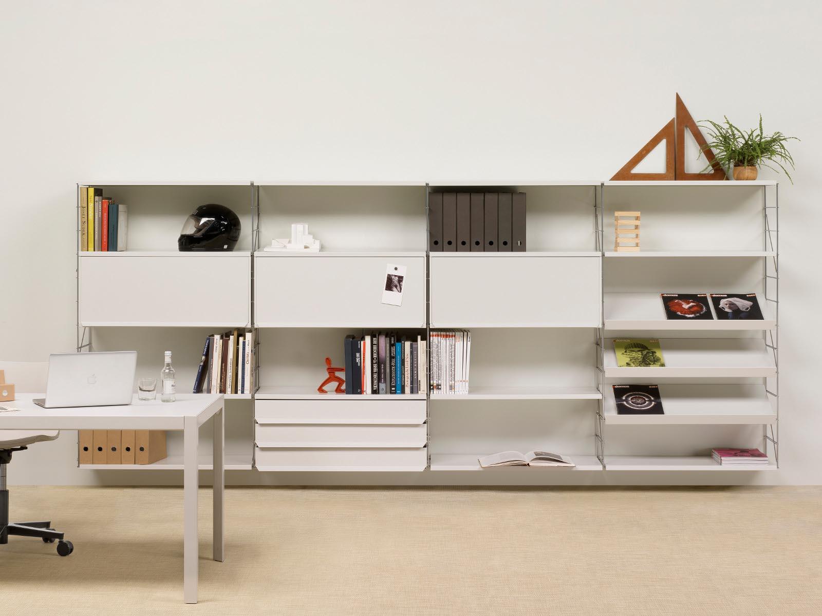 Wall Mounted Shelves White