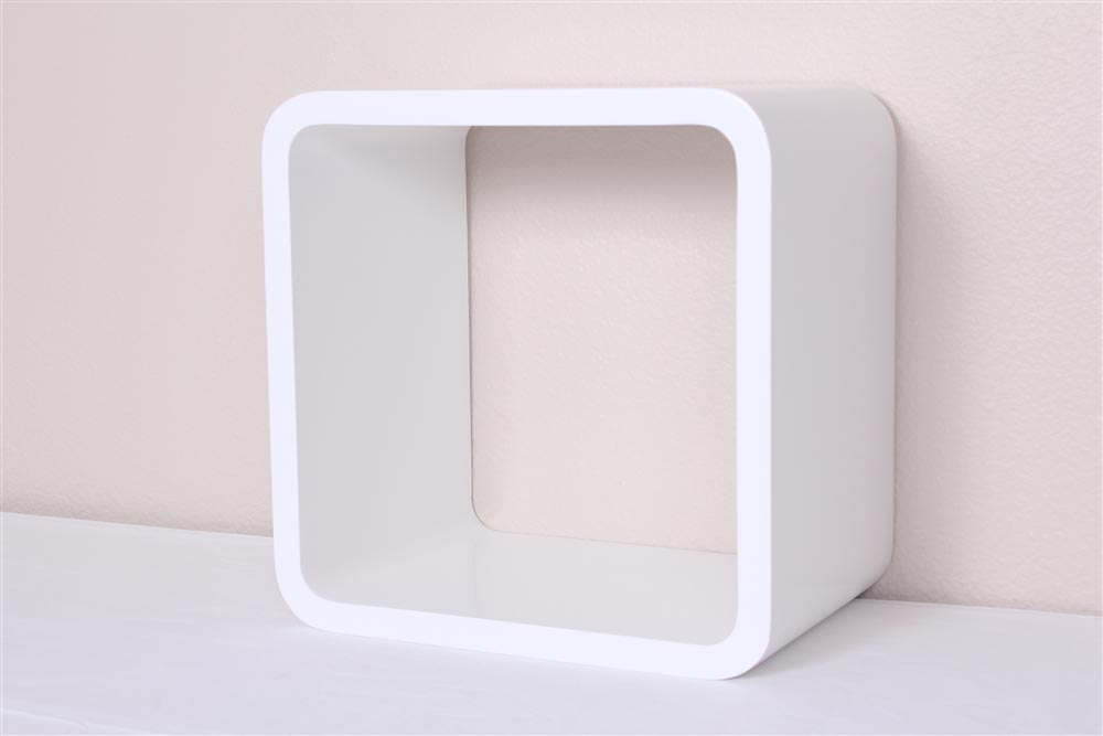 White Box Wall Shelves