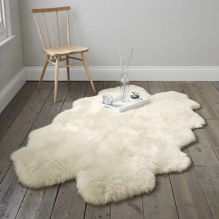 White Company Sheepskin Rug